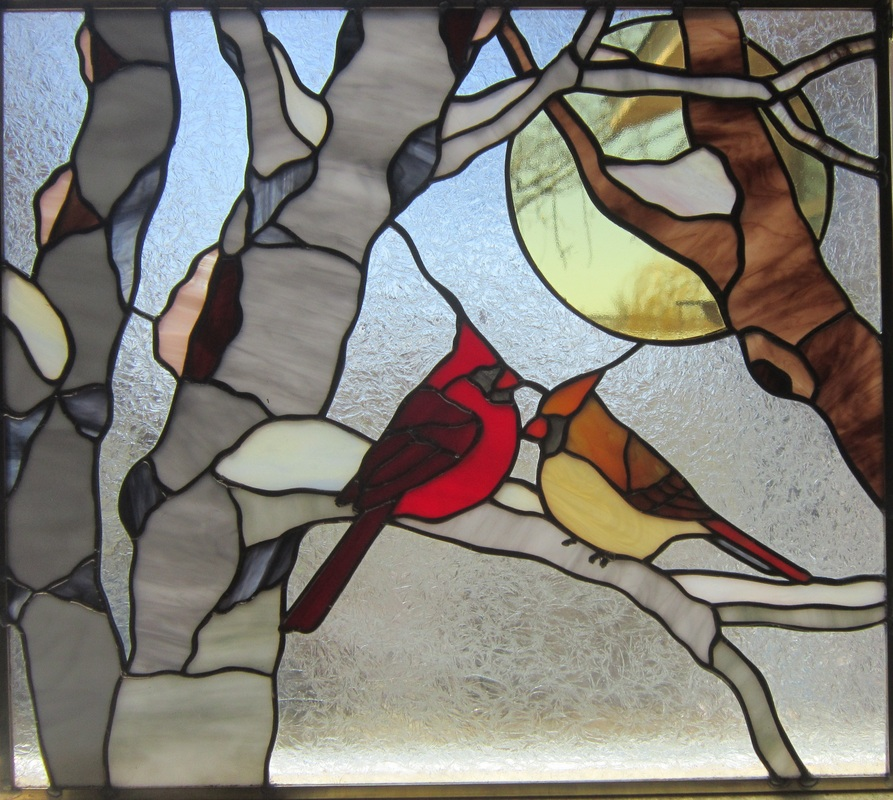 1000 Images About Birds Stained Glass On Pinterest