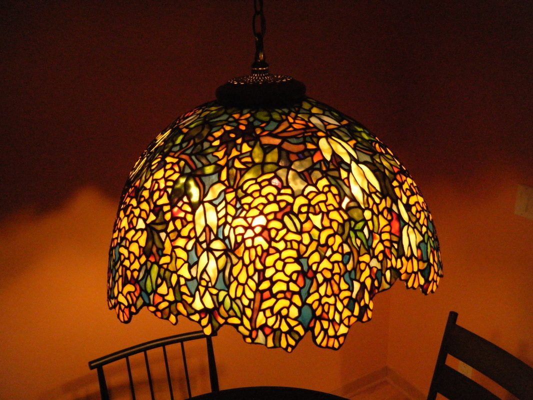 Tiffany Lamp Replicas Spectrum Stained Glass Studio